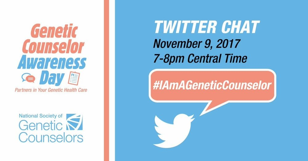 Genetic Counselor Awareness Day Tweetchat