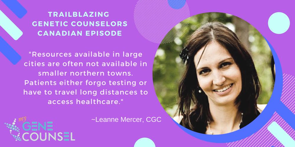 Leanne Mercer, CGC @LeanneMercerCGC