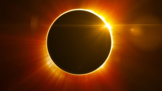 Solar Eclipse, Photo Credit:  visitalton.com