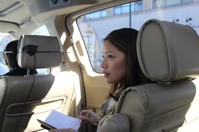 Competition Has Female Entrepreneurs Make Their Elevator Pitch In The Back Of An Uber